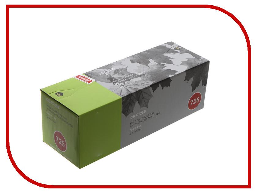 Картридж Cactus CS-C725S для Canon LBP 6000 i-Sensys/6000b i-Sensys/MF3010/LBP6030w Black принтер canon i sensys colour lbp653cdw лазерный цвет белый [1476c006]
