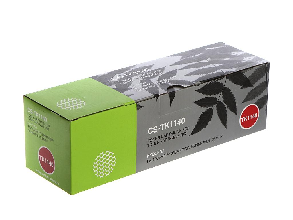 Картридж Cactus CS-TK1140 для Kyocera FS-1035MFP DP/1135MFP Black