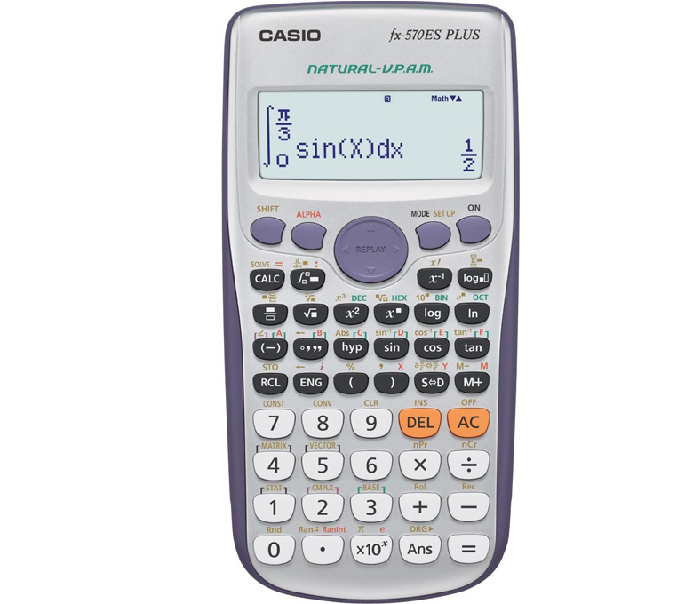 Калькулятор Casio FX-570ES Plus калькулятор casio fx 82sx plus