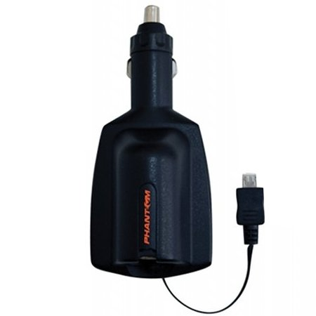 Аксессуар Разветвитель прикуривателя USB Phantom PH2190<br>