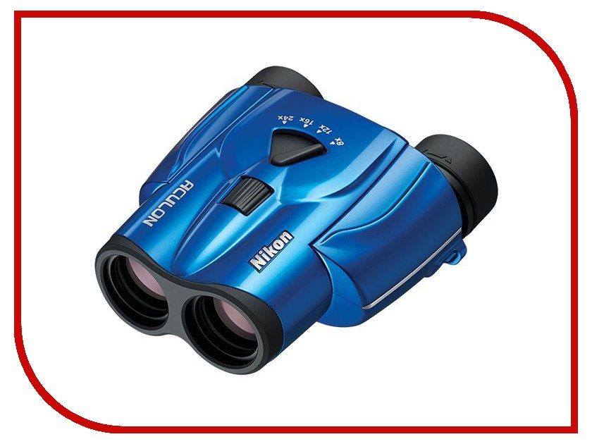 Бинокль Nikon 8-24x25 Aculon T11 Zoom Blue<br>