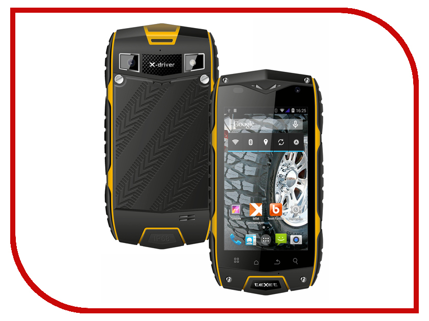 Сотовый телефон teXet X-driver Quad TM-4082R / TM-4082<br>