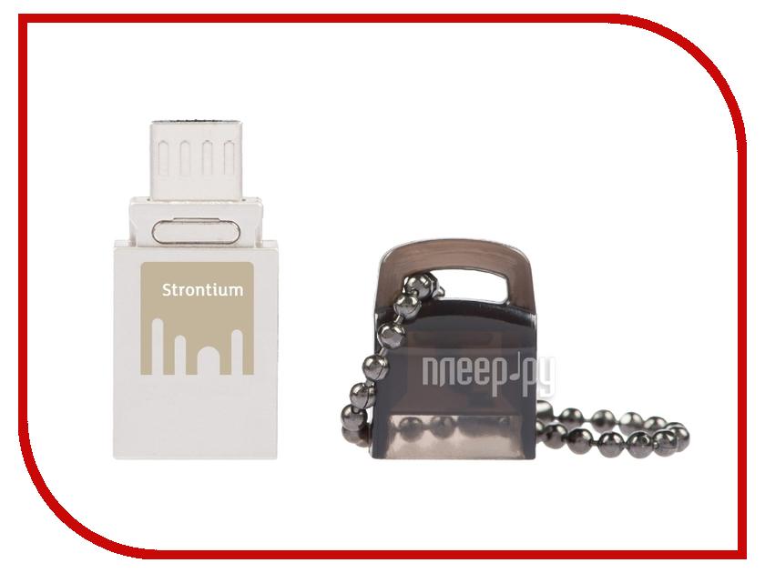 USB Flash Drive 16Gb - Strontium NITRO OTG SR16GSBOTG1<br>