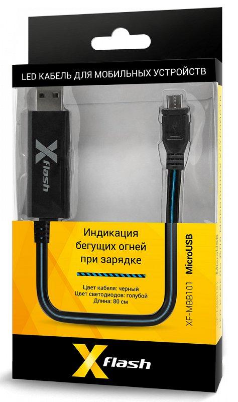Аксессуар X-flash microUSB XF-MBB101 45518