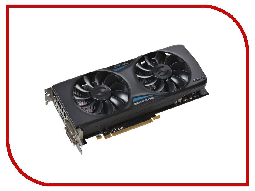 Видеокарта EVGA GeForce GTX 970 1165Mhz PCI-E 3.0 4096Mb 7010Mhz 256 bit 2xDVI HDMI HDCP 04G-P4-2974-KR