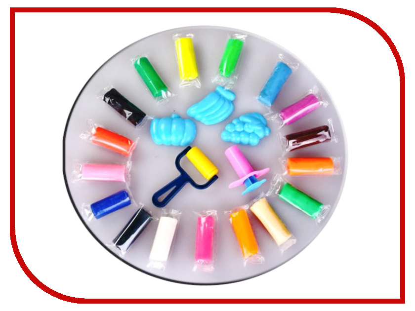 Набор для лепки Color Puppy 18 цветов 315г 63780 Тесто для лепки