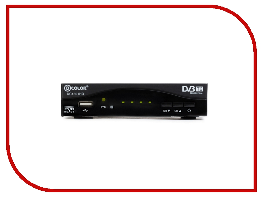 Тюнер D-Color DC1301HD Black<br>