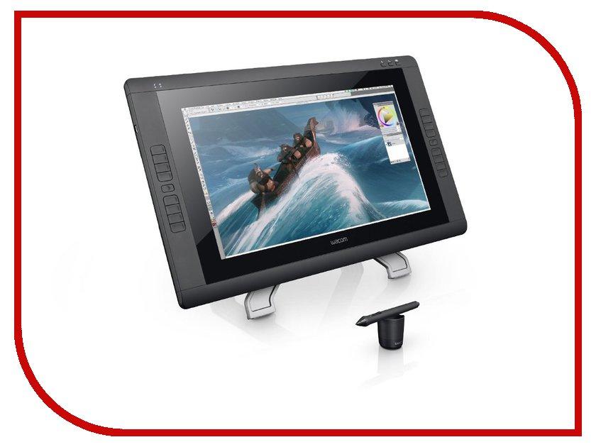 Графический планшет Wacom Cintiq 22HD WAC-DTK-2200 планшет samsung galaxy tab s3 sm t820n 4gb 32gb android 7 0 серебристый [sm t820nzsaser]