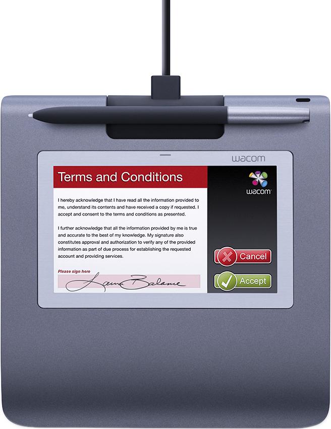 Графический планшет Wacom STU-530 для цифровых подписей