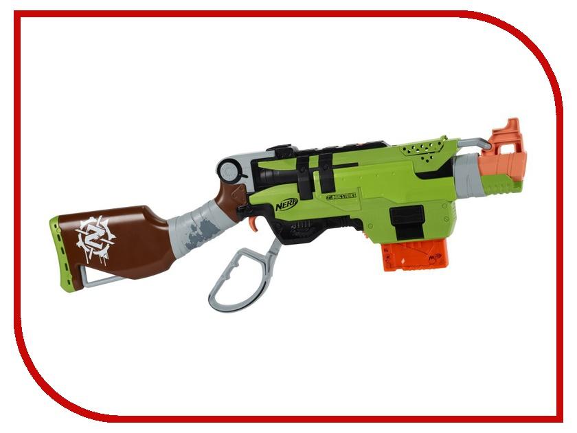 Игрушка Hasbro NERF Зомби СлингФайр A6563 оружие игрушечное hasbro hasbro детский бластер nerf зомби страйк переворот