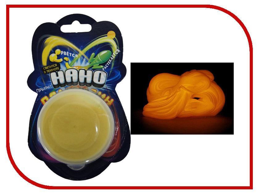 Набор для лепки Creative Studio Нано Пластилин Светящийся Yellow 83-40GD-1