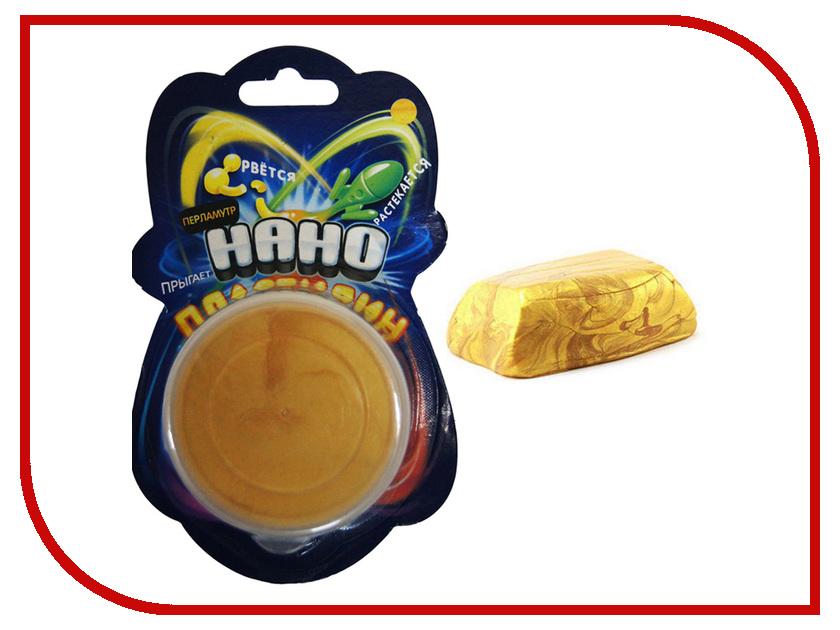 Набор для лепки Creative Studio Нано Пластилин METALIK Gold 83-40MT-1<br>