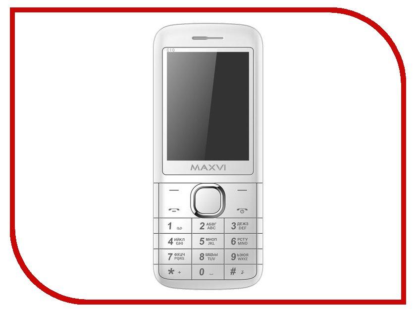 Сотовый телефон Maxvi C10 White<br>