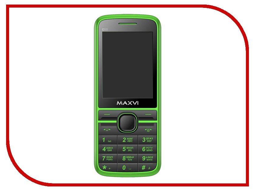 Сотовый телефон Maxvi C11 Green