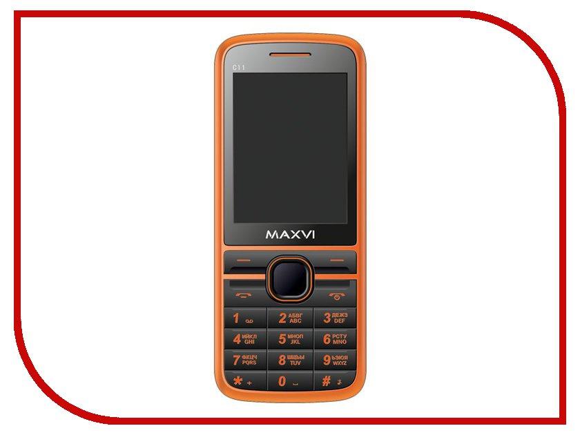 Сотовый телефон Maxvi C11 Orange