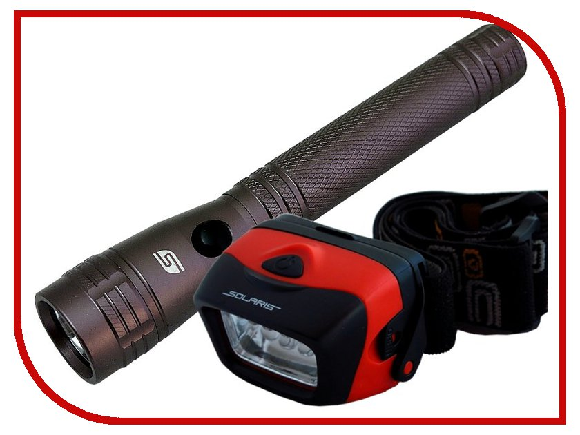 Фонарь Solaris Kit F-10/L20 смеситель roca l20 75a2109c00