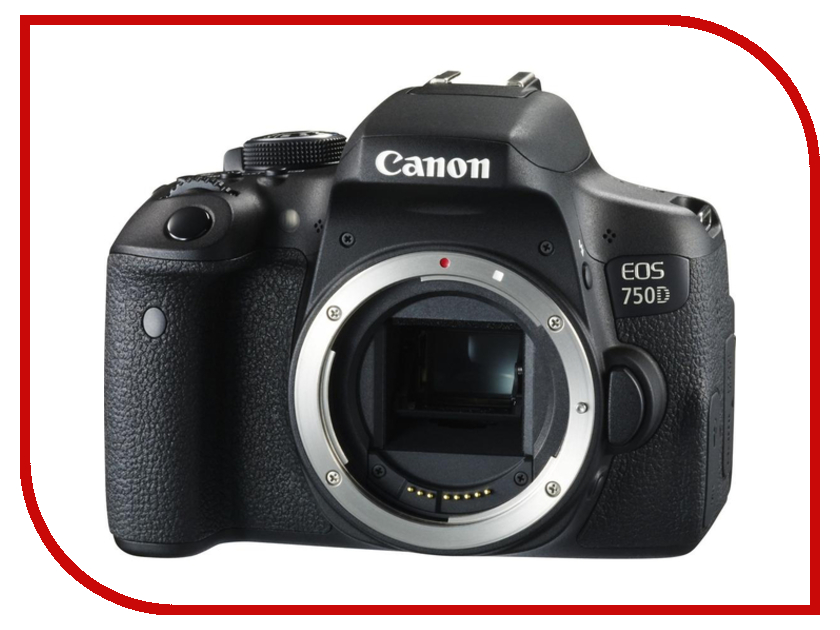 Фотоаппарат Canon EOS 750D Body runco q 750d