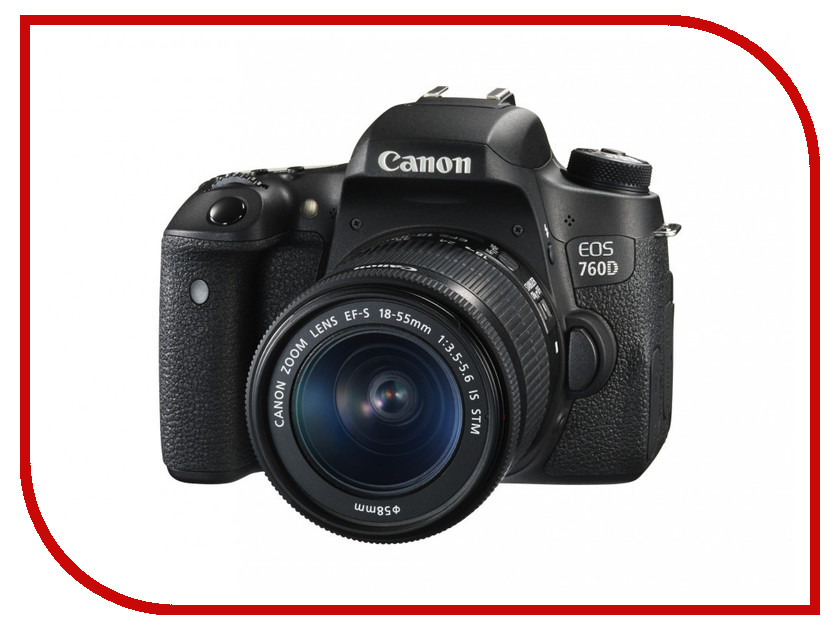 Фотоаппарат Canon EOS 760D Kit 18-55 STM<br>