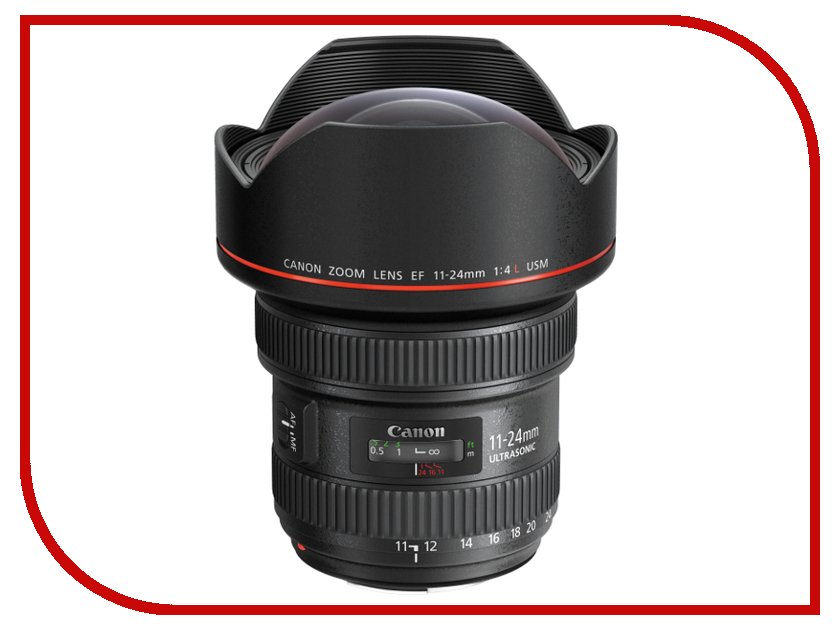 Объектив Canon EF 11-24 mm f/4 L USM объектив для фотоаппарата canon ef 16 35mm f 4l is usm 9518b005