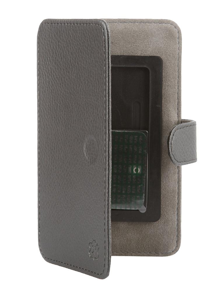 Аксессуар Чехол-книжка Norton 4.3-4.7-inch универсальный, на клейкой основе, с выдвижным механизмом Black