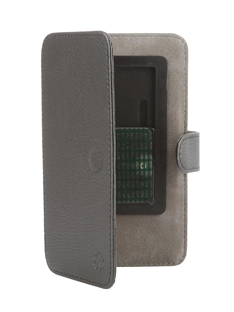 Аксессуар Чехол-книжка Norton 4.8-5.1-inch универсальный, на клейкой основе, с выдвижным механизмом Black