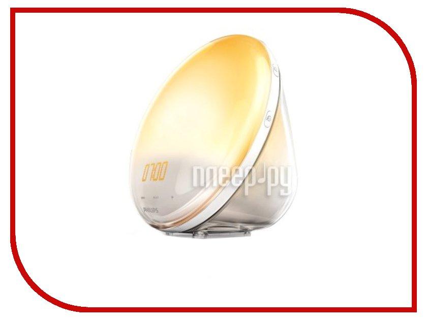 Часы Philips Wake-up Light HF3520/70 philips световой будильник wake up light