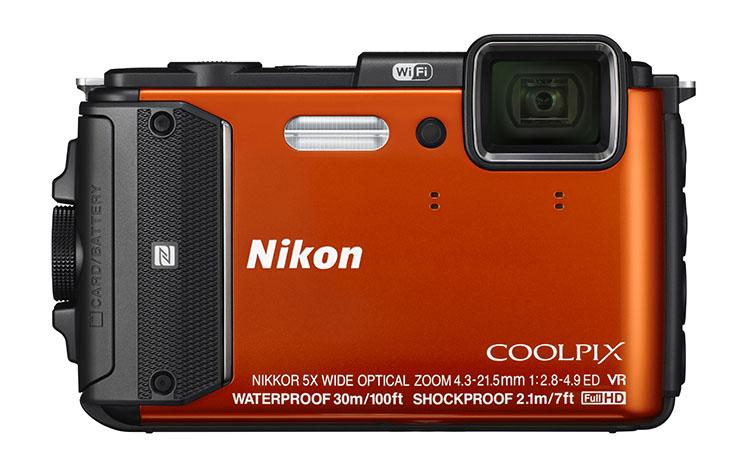 Фотоаппарат Nikon AW130 Coolpix Orange<br>