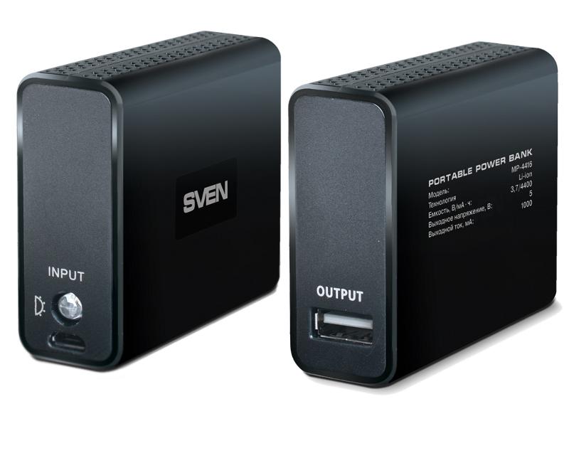 Аккумулятор Sven MP-4416 Black