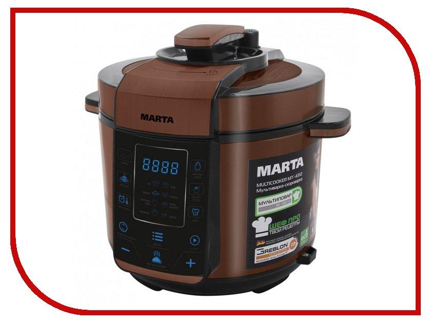 Мультиварка Marta MT-4312 Black-Copper<br>