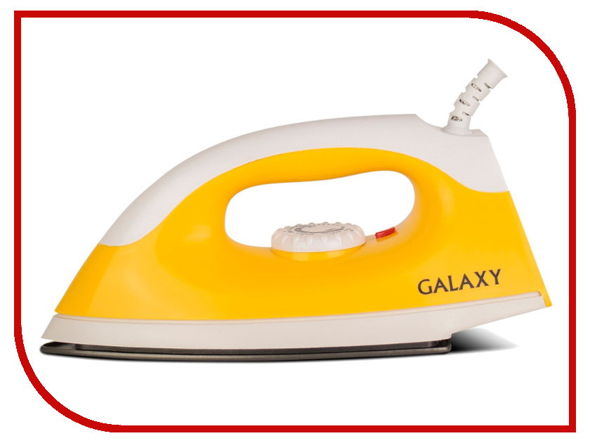 Утюг Galaxy GL6126 Yellow цена и фото