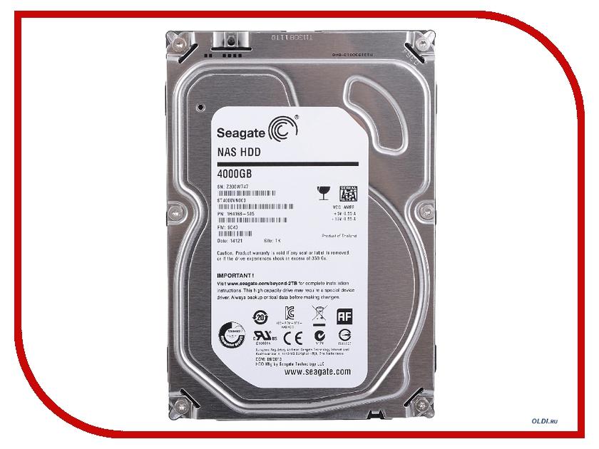 Жесткий диск 4Tb - Seagate NAS ST4000VN000