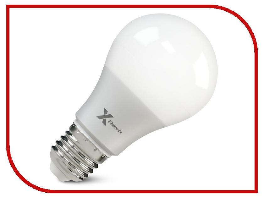 Лампочка X-flash XF-E27-GCL-A60-P-10W-3000K-220V 46683<br>