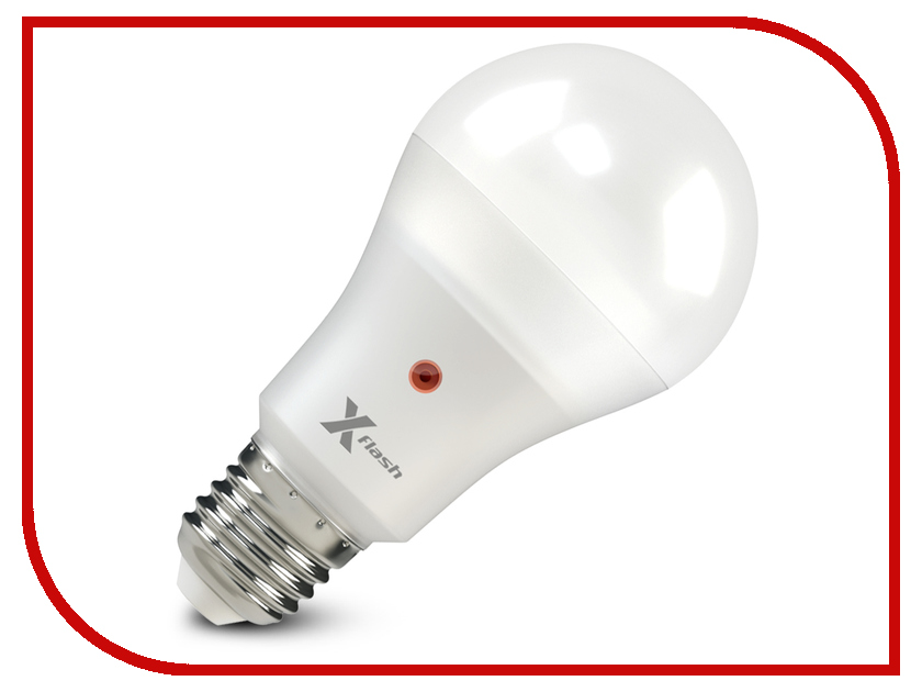 Лампочка X-flash XF-E27-OCL-A65-P-12W-4000K-220V 46652<br>