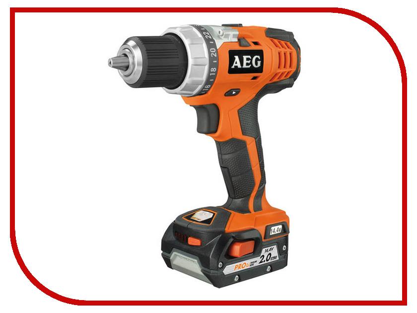 Электроинструмент AEG BS 14C LI-202C 443971 аккумуляторный гайковерт aeg bss 12c li 202c 443965