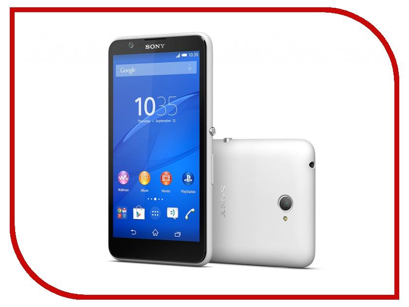 Сотовый телефон Sony E2105 Xperia E4 White<br>