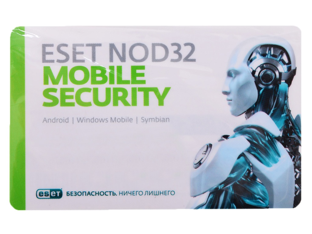 Программное обеспечение Eset NOD32 Mobile Security 3Dt 1year NOD32-ENM2-NS(CARD)-1-1