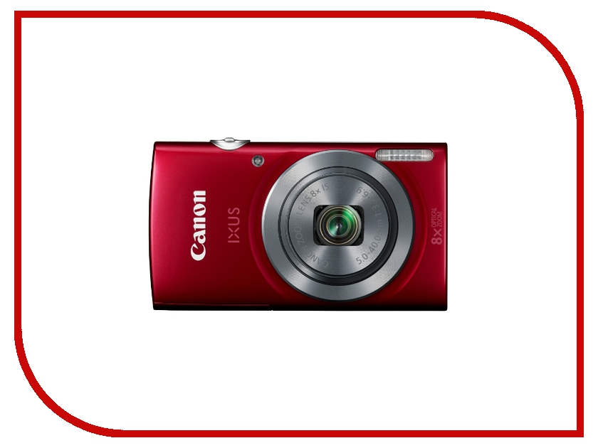 Фотоаппарат Canon IXUS 165 Red фотоаппарат 60d