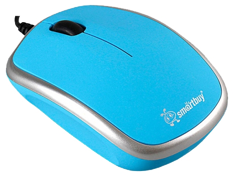 Мышь проводная SmartBuy 313 Blue-Silver SBM-313-BS USB