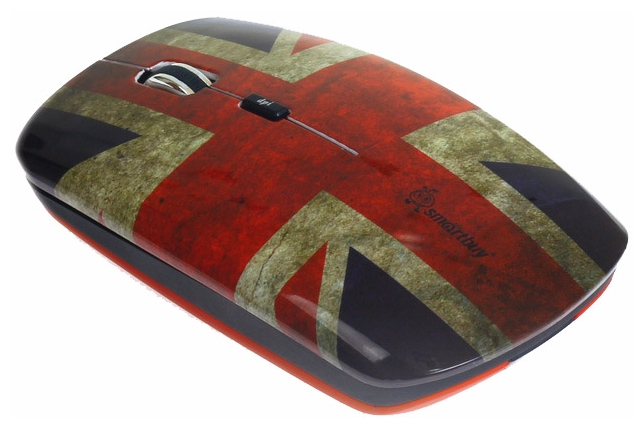 Мышь беспроводная SmartBuy 327AG British Flag Full-Color Print SBM-327AG-BF-FC USB