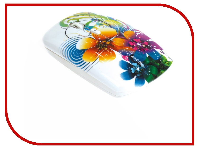 Мышь SmartBuy 327AG USB Flowers Full-Color Print SBM-327AG-FL-FC свитшот print bar fc liverpool