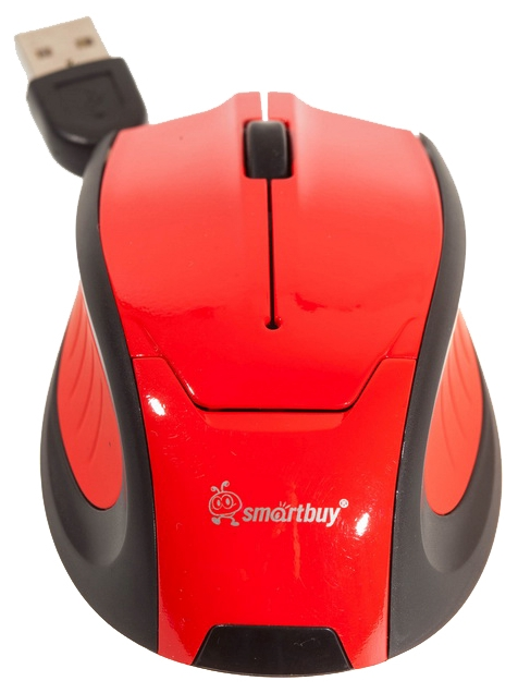 Мышь проводная SmartBuy 308 Red SBM-308-R USB