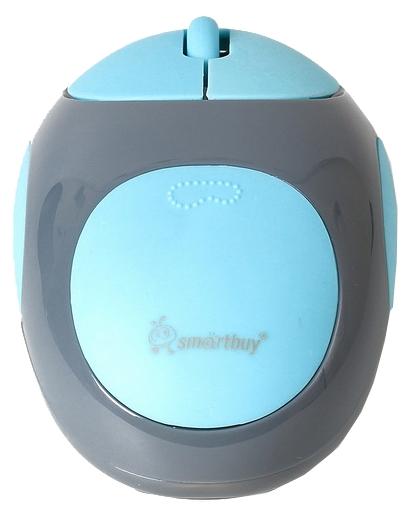 Мышь беспроводная SmartBuy 361AG Gray-Blue SBM-361AG-GB USB<br>