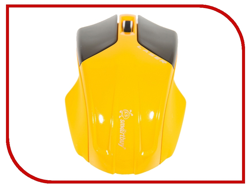 Мышь беспроводная SmartBuy 316AGL Yellow SBM-316AGL-Y USB