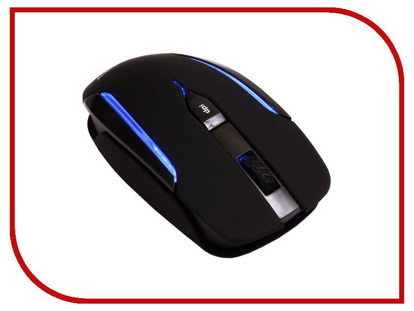 Мышь беспроводная SmartBuy 366AG Black Blue LED SBM-366AG-KB USB