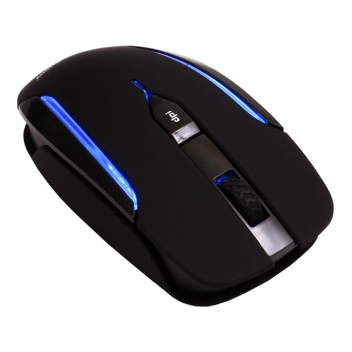 Мышь беспроводная SmartBuy 366AG Black Blue LED SBM-366AG-KB USB