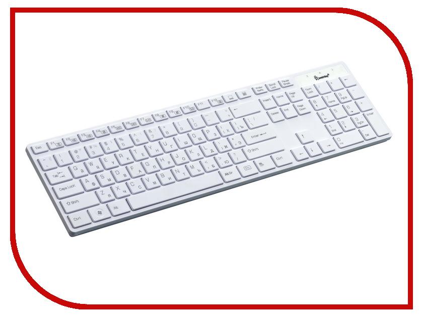 Клавиатура SmartBuy SBK-204US-W White USB<br>