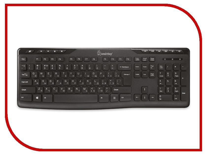 Клавиатура SmartBuy SBK-209U-K Black USB<br>