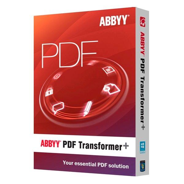 Программное обеспечение ABBYY PDF Transformer+<br>