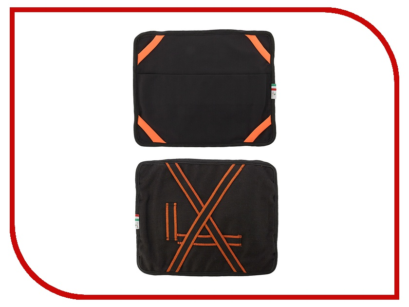 Аксессуар Чехол Hi-Fun VaVeliero iPad Suit Denim Nero-Arancione<br>