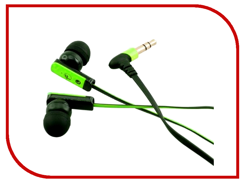 Наушники Fischer Audio FA-555 Green-Black<br>